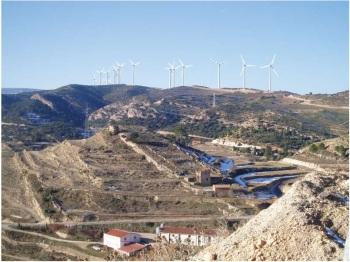 Parque eólico Olocau