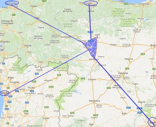 Madrid - Oporto-